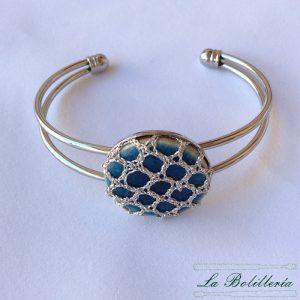Pulsera Brazalete Azul