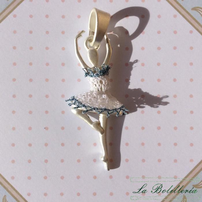667aa8b645e3 Colgante Bailarina Ballet - La Bolillería - Tu casa de los Bolillos ...