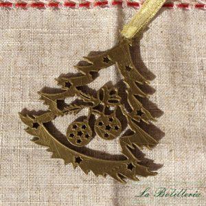 Bola de Navidad Árbol Bronce