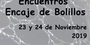 Encuentros de Encaje de Bolillos Noviembre 2019